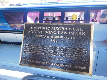 monorail plaque