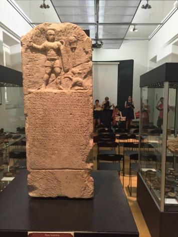 Amphitheatre museo gladiator stelae