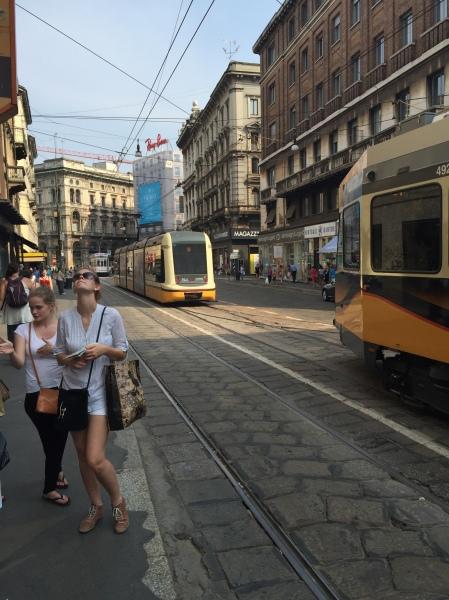 Milano trams